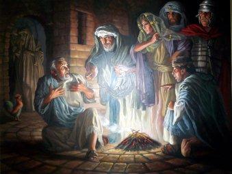 Image result for Peter denies Jesus